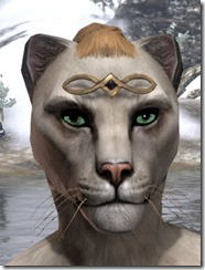 Elven Infinity Half-Circlet Khajiit Female
