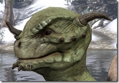 Nose Spike with Chin Studs Argonian 2