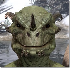 Nose Spike with Chin Studs Argonian
