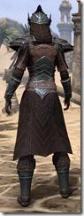 Ebony Ancestor Silk Robe - Female Back