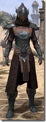 Ebony Ancestor Silk Robe - Female Front