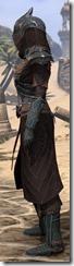 Ebony Ancestor Silk Robe - Female Side