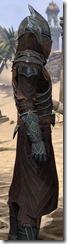 Ebony Ancestor Silk Robe - Male Close Side
