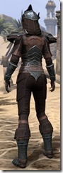Ebony Ancestor Silk Shirt - Female Back