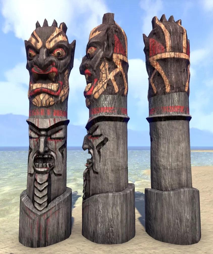 Eso Fashion Orcish Totem Elder Scrolls Online