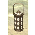 Redguard Lamp, Caged