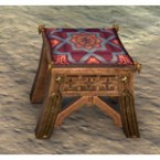 Redguard Stool, Starry