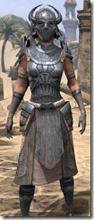 Silken Ring Iron - Female Close Front