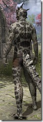 Silver-Black Serpent Scales - Male Back