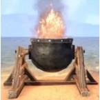 Surplus Flaming Oil