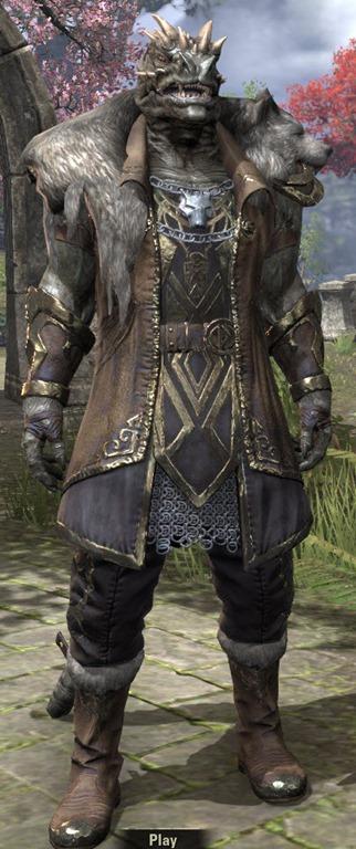 ESO Fashion Werewolf Lord