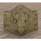 Argonian Medallion, Stone