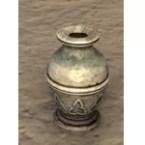Breton Vase, Glazed