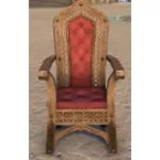 Redguard Armchair, Lattice