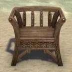 Redguard Armchair, Slatted