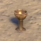 Redguard Chalice, Empty