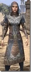 Telvanni Wizard-Lord Robe - Female Close Front