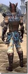Dro-m'Athra Rubedo Leather - Male Back