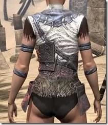 Falkreath Cuirass - Female Back
