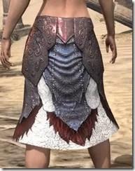 Falkreath Greaves - Female Back