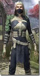 Naryu's Morag Tong Costume Dyed Close Front