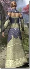 Ancestral Homage Formal Gown Dyed Back