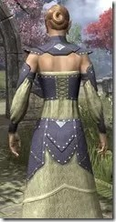 Ancestral Homage Formal Gown Dyed Close Back