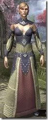 Ancestral Homage Formal Gown Dyed Front