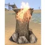 Witches Brazier, Primitive Log