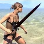 Bloodforge Rubedite Sword