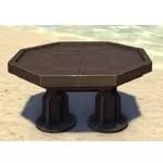 Clockwork Table, Octagonal