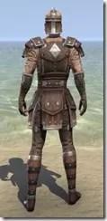 Colovian Uniform - Male Back