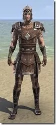 Colovian Uniform - Male Front