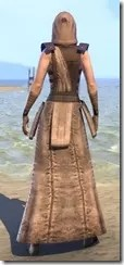 Courier Uniform - Female Back