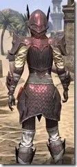 Ebonshadow Rubedite - Female Close Back