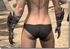 Ebonshadow Gauntlets - Female Back