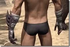 Ebonshadow Gauntlets - Male Back