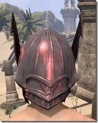 Ebonshadow Helm - Male Back