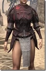 Hlaalu Cuirass - Female Front
