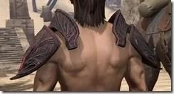Hlaalu Pauldron - Male Back