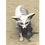 Arctic Fennec Fox