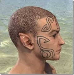 Clockwork Apostle Face Imprints - Male Side
