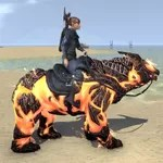 Flame Atronach Bear