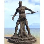 Statue of Malacath, Orc-Father