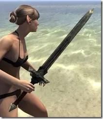 Ancient Elf Orichalc Sword 2