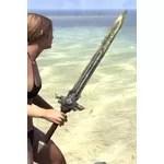 Ancient Elf Steel Sword