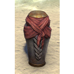 Ancient Nord Funerary Jar, Crimson Sash