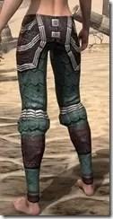 Argonian Dwarven Greaves - Female Rear