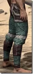 Argonian Dwarven Greaves - Male Right