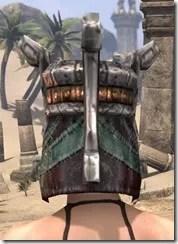 Argonian Dwarven Helm - Female Rear